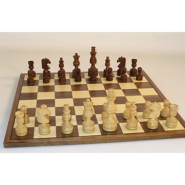 WorldWise Chess Royal Carved Chess Set