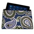 Greendale Home Fashions iPad Cover; Blue Paisley