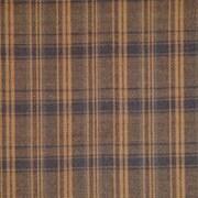Patch Magic Dark Brown Plaid Bed Skirt / Dust Ruffle; King