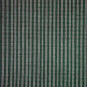 Patch Magic Green Hunter and Tan Checks Bed Skirt / Dust Ruffle; King