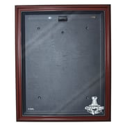 Caseworks International Chicago Blackhawks Stanley Cup Champions Cabinet Style Jersey Case; Mahogany