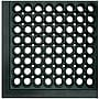 Crown Matting Safewalk Light Mat; Black