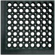 Crown Matting Safewalk Light Mat; Black