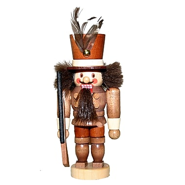 Christian Ulbricht Natural Light Wood Mini Solider Nutcracker