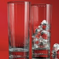 Home Essentials and Beyond Red Series 14 oz. Striped Highball Glass (Set of 4)