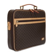 Rioni Signature Jetsetter's Laptop Briefcase; Brown