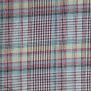 Patch Magic Plaid Bed Skirt / Dust Ruffle; Queen