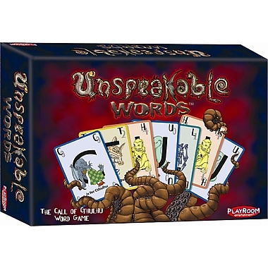 Playroom Entertainment Unspeakable Words Games