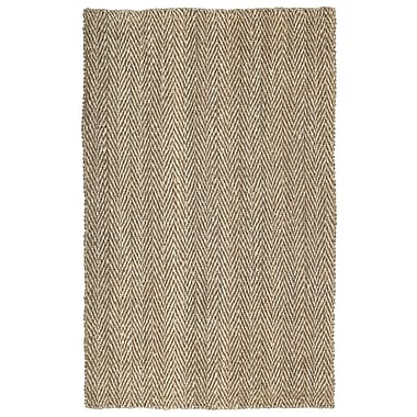 Kaleen Essential Coir Brown Area Rug; 5' x 8'