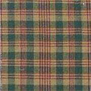 Patch Magic Plaid Bed Skirt / Dust Ruffle; Full