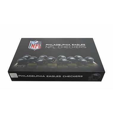 Rico Industries NFL Checker Set; Philadelphia Eagles