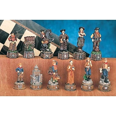 CHH Wild Wild West Chessmen