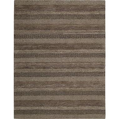 Calvin Klein Rugs Sequoia Boucle Stripe Woodland Area Rug; 7'9'' x 10'10''