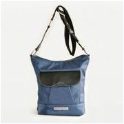 Clark & Mayfield Newport iPad Crossbody Bag; Navy