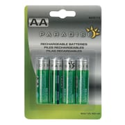 Paradise Garden Lighting 4 Pack AA 900 mAh Ni-Cd Batteries