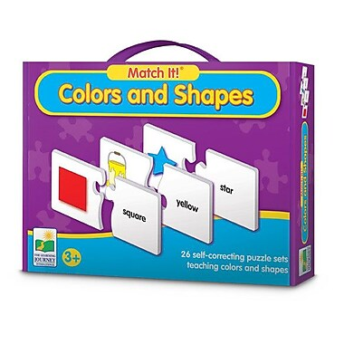 The Learning Journey Match It! Colors and Shapes