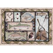 Custom Printed Rugs Fishing Doormat