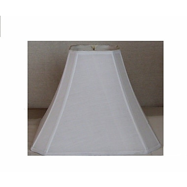 Lamp Factory 15'' Shantung Silk Square Lamp Shade