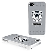 Forever Collectibles NFL Hard iPhone Case; Oakland Raiders - Black