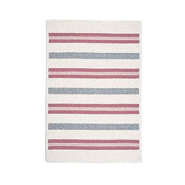 Colonial Mills Allure Mauveberry Outdoor Area Rug; Square 10'