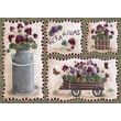 Custom Printed Rugs Home Accents Geraniums Novelty Rug; 37'' x 52'' x 0.125''