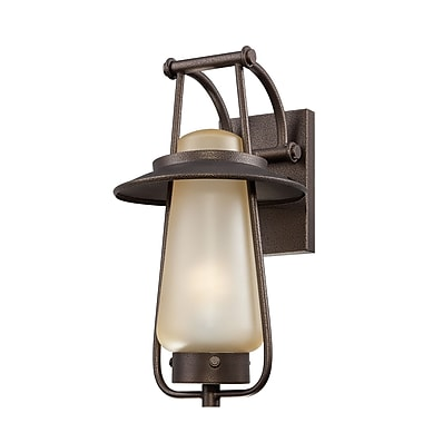 Designers Fountain Stonyridge 1-Light Outdoor Wall Lantern