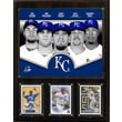 C & I Collectibles MLB 2013 Team Plaque; Kansas City Royals