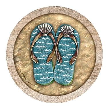 Thirstystone Flip Flops Coaster (Set of 4)