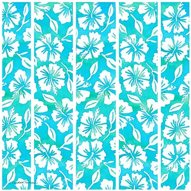 Thirstystone Hibiscus Garden Pattern Teal Occasions Trivet