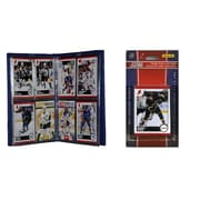C & I Collectibles NHL Licensed 2010 Score Team Set and Storage Album; Detroit Red Wings