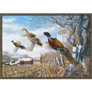 Custom Printed Rugs Pheasant Doormat