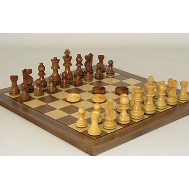 WorldWise Chess Chess and Checker Set