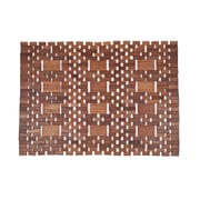 Entryways Mills Exotic Wood Mat - Natural 18x30; 18 x 30