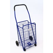 Trimmer Small Shopping / Grocery Cart; Blue