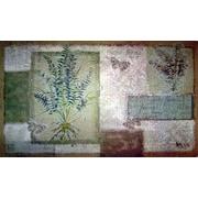 Custom Printed Rugs Majestic Ferns Doormat