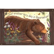 Custom Printed Rugs Door Mats Lazy Bear Doormat