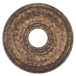 Livex Lighting 1'' Ceiling Medallion; Venetian Golden Bronze