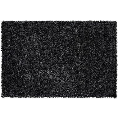 Dynamic Rugs Metropolitan Black/White Rug; 5' x 8'