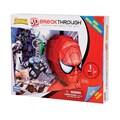 Mega Brands 100 Piece 3D Breakthrough Spiderman Puzzle
