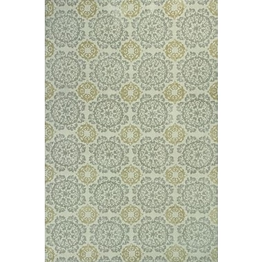 KAS Rugs Allure Suzani Green Area Rug; 2'6'' x 4'2''