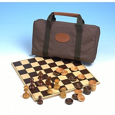 Drueke Travel Chess and Checkers Bag