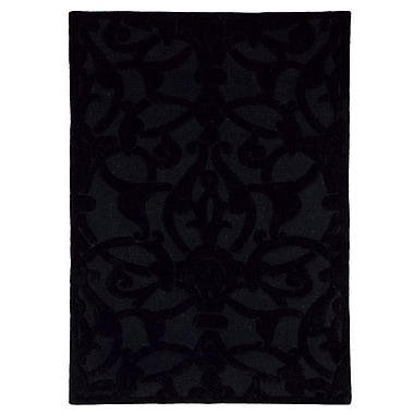Dynamic Rugs Aria Madison Black Area Rug; 8' x 11'