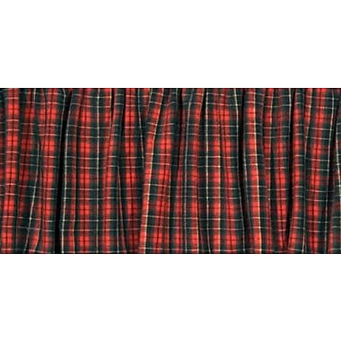 Wooded River McWoods I Gathered Bed Skirt; Twin