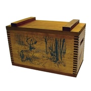 Evans Sports Standard Storage Box With Whitetail Deer Print