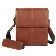 Dr. Koffer Fine Leather Accessories Messenger Bag; Venetian Cognac