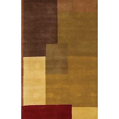 Chandra Dream Brown/Tan Area Rug; 7'9'' x 10'6''