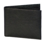 Dr. Koffer Fine Leather Accessories Small Wallet with ID Window; Venetian Black