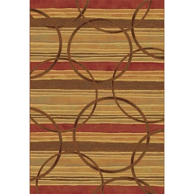 Dynamic Rugs Eclipse Firetown Spice Area Rug; 6'7'' x 9'6''