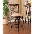 Wildon Home   Rodney 25.25'' Swivel Bar Stool with Cushion
