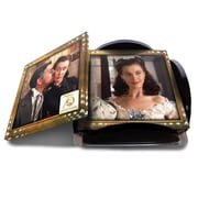Trend Setters Gone with The Wind 75th Anniversary StarFire Prints Glass Coaster Set